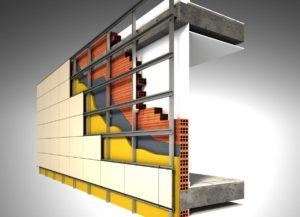 Вентилируемые фасады (работа)