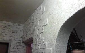 Шпатлевание стен под обои слоем до 2 мм (в 2 слоя)