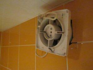 Подключение и установка вентилятора