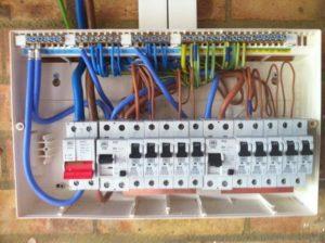 Установка/замена диф.автомата 2П (на DIN) с подключением проводников