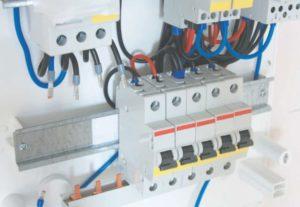 Автомата замена/установка 1П (на DIN) с подключением проводников