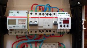 УЗО замена/установка 2П (на DIN) с подключением проводников
