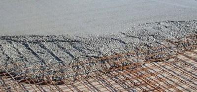 Укладка бетонной смеси в конструкцию без бетононасоса