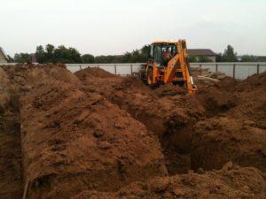Разработка грунта механизированными средствами